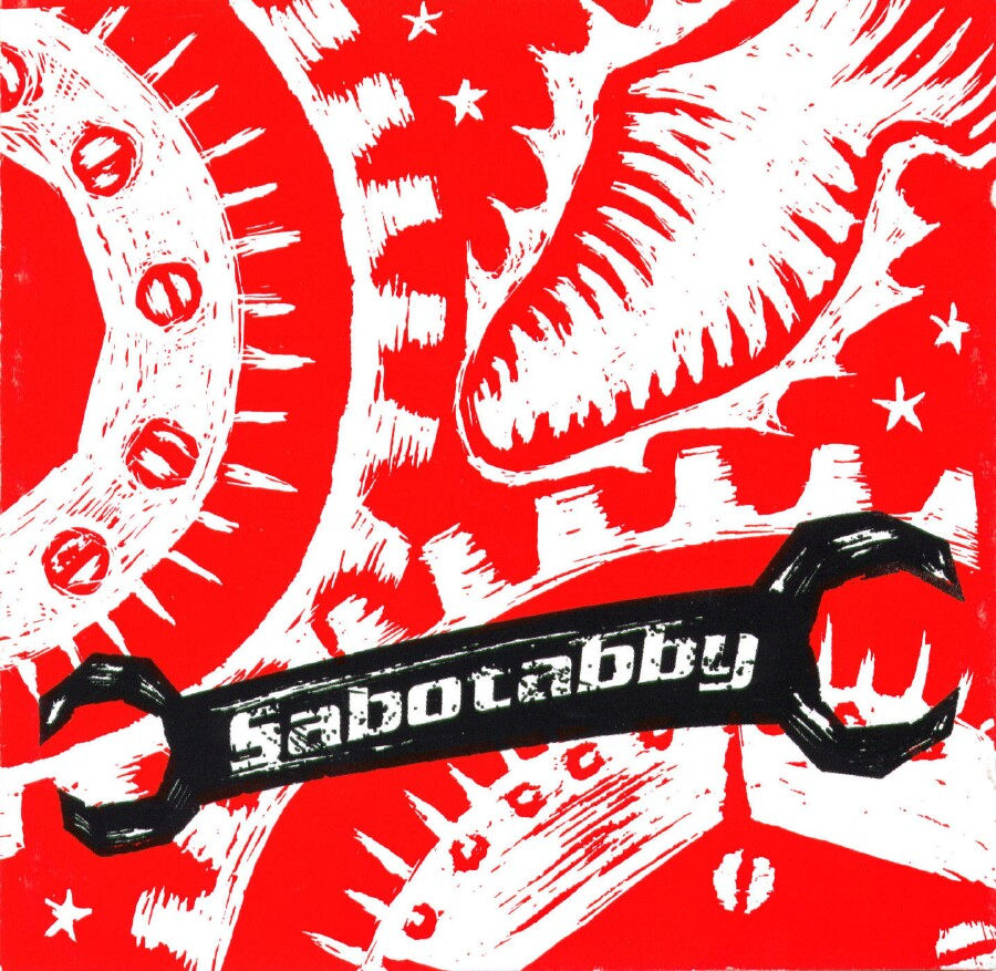Sabotabby: The Cover